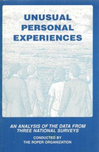 cover of unusual personal experiences, an analysis of the data from three national surveys by the roper organization