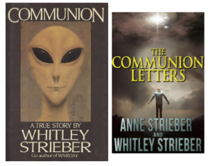 cover of the communion Letters by Whitley Strieber