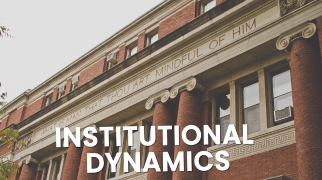 Institutional dynamics and UFOS - course